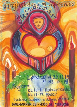 Freja Skolens & Alfehavens Julebasar d. 28/11, kl. 10-14